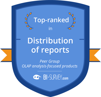 Distribution of reports olap