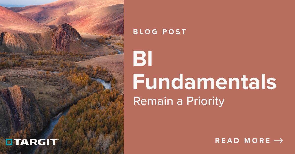 BI Fundamentals Remain a Priority