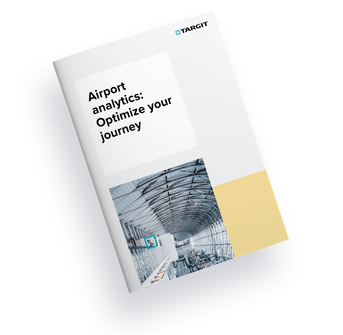 airport analytics optimize your journey front cover TARGIT guide