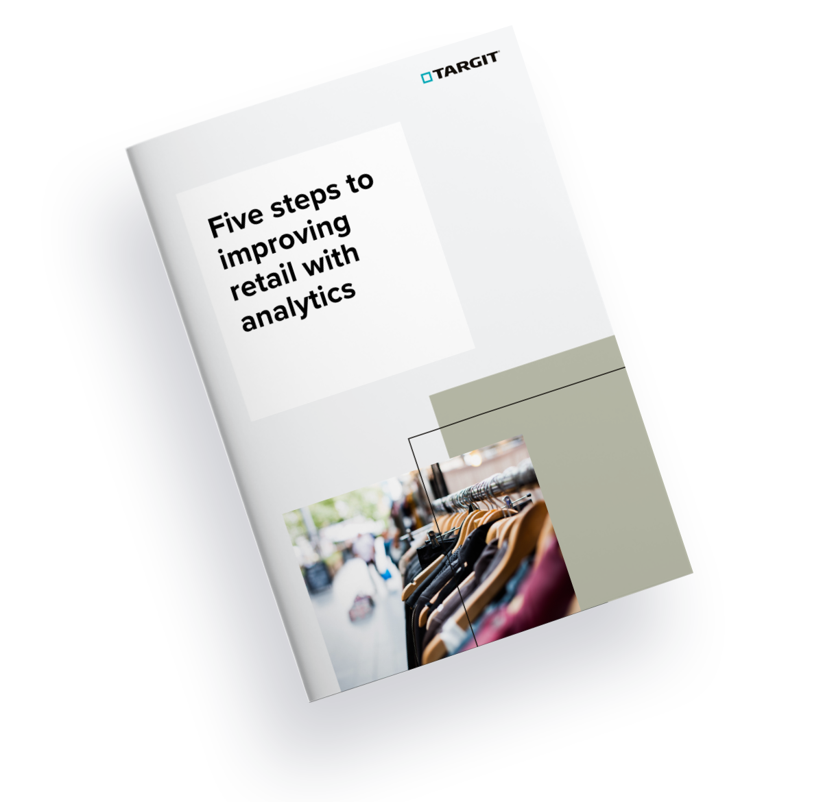 Five steps to improving retail with analytics cover