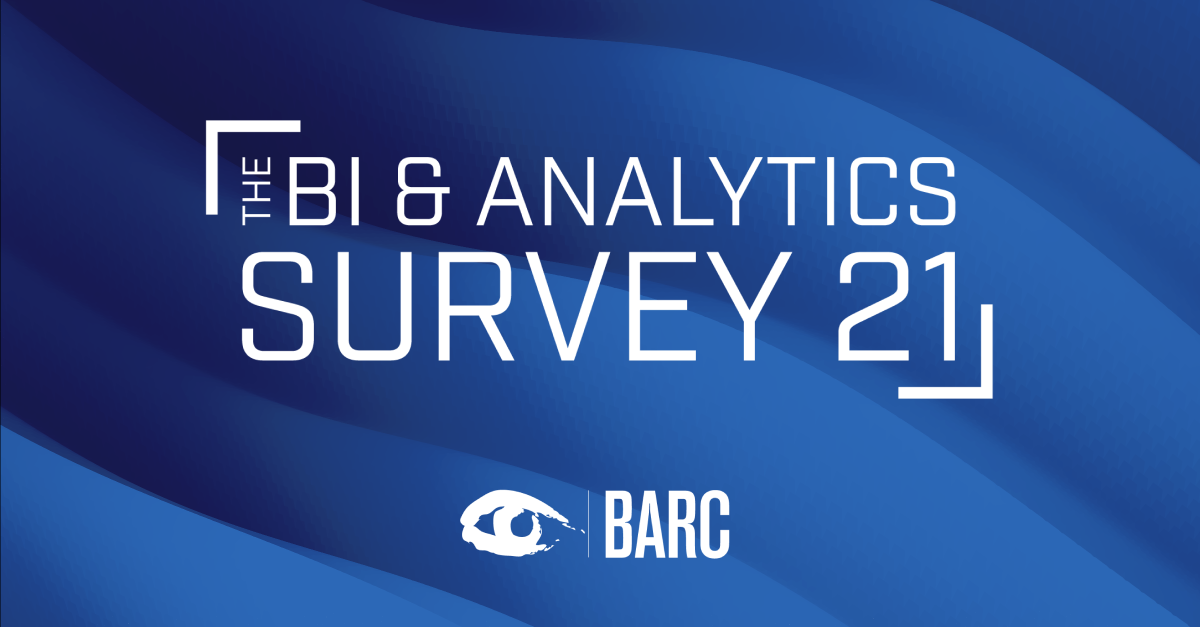 TARGIT in the BI & Analytics Survey 21