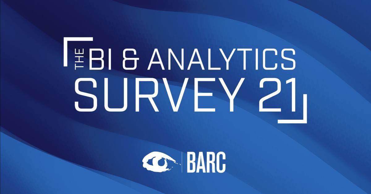 TARGIT in the BI & Analytics Survey 21 - TARGIT