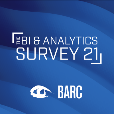 The BI & Analytics Survey 21: TARGIT Ranks as a Leader in 21 Categories with Highest Satisfaction Score Ever